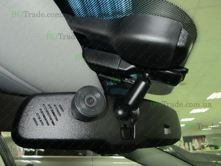 Установка зеркала видеорегистратора на Kia тип 10