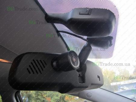 Установка зеркала видеорегистратора на KIA тип 5