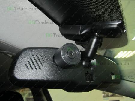 Установка зеркала видеорегистратора на Kia тип 8