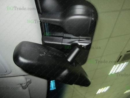 Установка зеркала видеорегистратора на Kia тип 9