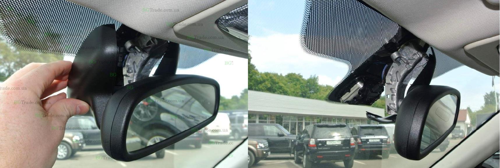 Установка зеркала видеорегистратора на Land Rover