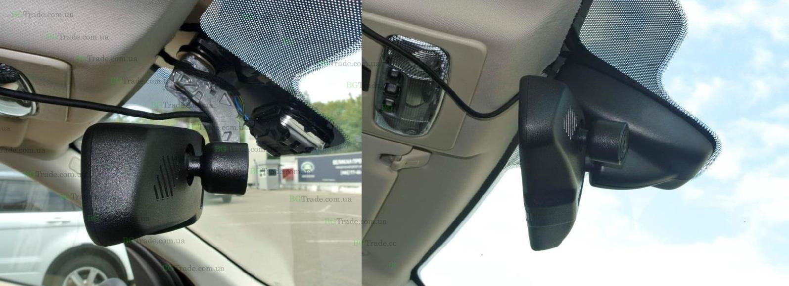 Зеркало видеорегистратор на Land Rover