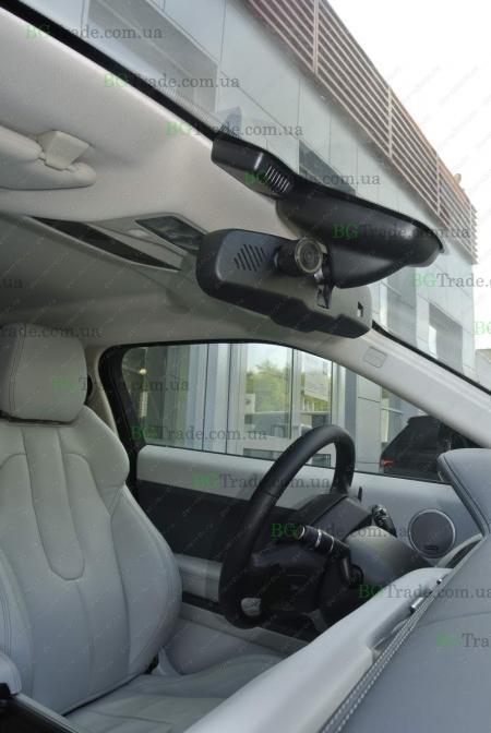 Установка зеркала видеорегистратора на Land Rover тип 1