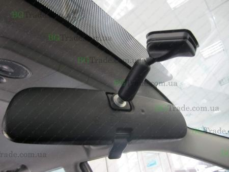Установка зеркала видеорегистратора на Mitsubishi тип 5