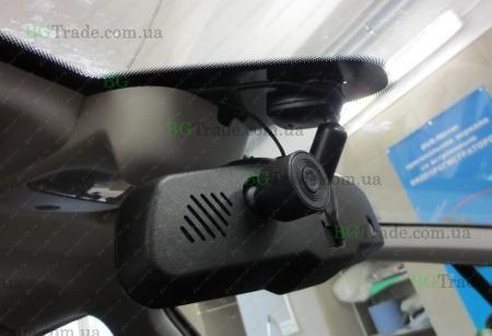 Установка зеркала видеорегистратора на Peugeot  тип 1