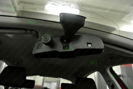 Установка зеркала видеорегистратора на Skoda тип 2