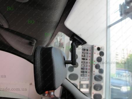 Установка зеркала видеорегистратора на Волгу/Газель (Тип 1)